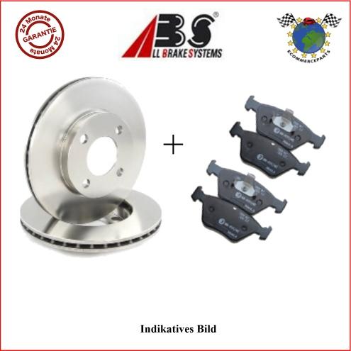 kit bremsscheiben und bremsbel ge hinten abs mitsubishi. Black Bedroom Furniture Sets. Home Design Ideas